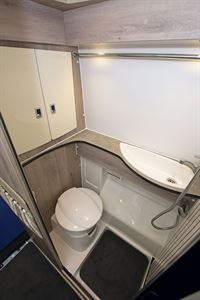 The washroom in the WildAx Pulsar
