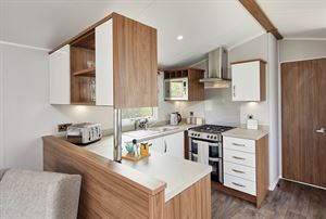 This U-shaped kitchen is another highlight of the Willerby Avonmore