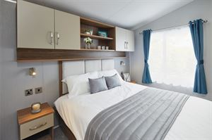One of the bedrooms in the Avonmore