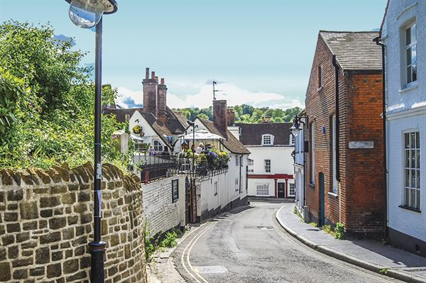 Winchester - just one of the pretty places in Hampshire