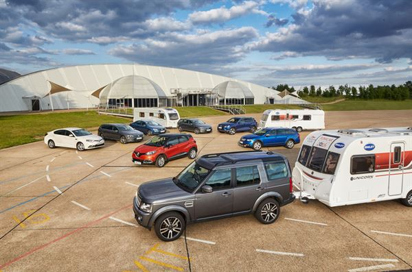 Volkswagen And Land Rover Clean Up At Caravan Club Towcar Awards