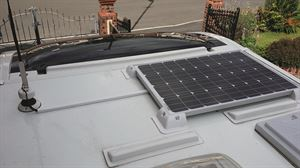 Extend your wild camping capabilities by fitting a solar panel on the roof