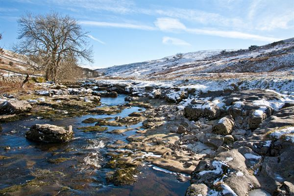 The Yorkshire Dales is a delight in the winter months
