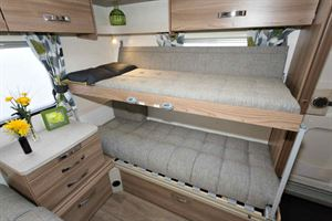 You can use either or both bunks