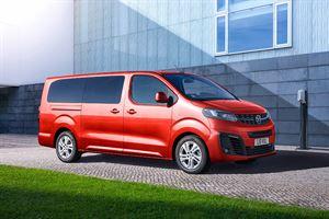 Peugeot's lectric Vivaro Life