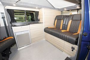 Inside the Rolling Homes Expedition campervan