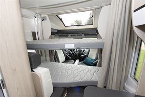 The 634's Duo Bed system