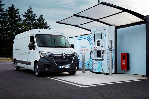 Renault is introducing a hydrogen option to its commercial vehicles