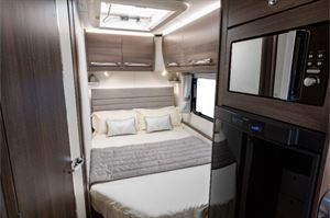 The French bed in the Buccaneer Aruba