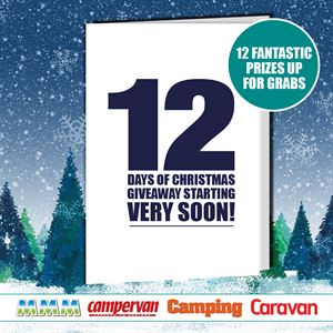 Win prizes every day in our 12 Days of Christmas giveaway!