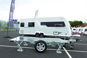 Caravan levelling system
