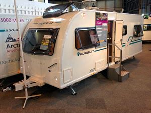 The new Bailey Pursuit 570-6 launched at the NEC
