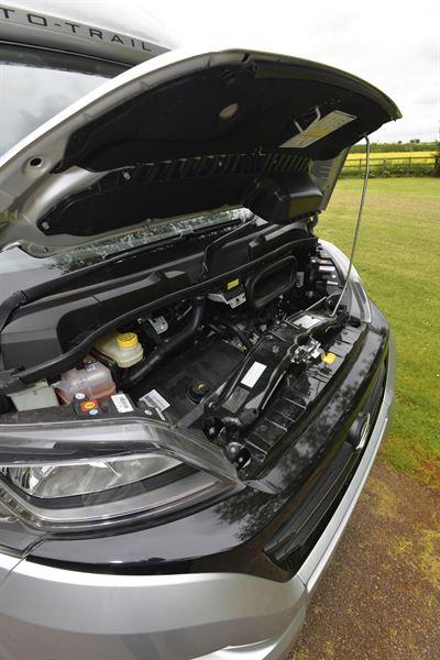 Motorhome base vehicle servicing