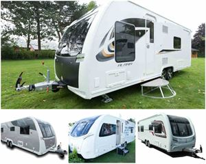 What is the twin-axle best luxury caravan for couples in 2017?