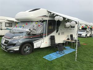 Winner of  'the best 25th Anniversary themed vehicle' competition