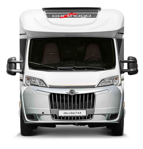 Most Carthago motorhomes will have the new LED headlights for the 2020 season
