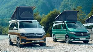 The VW California Coast, alongside the VW California Ocean