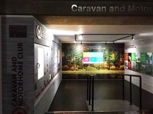 The Caravan and Motorhome Club's new interactive exhibit at the National Motor Museum in Beaulieu