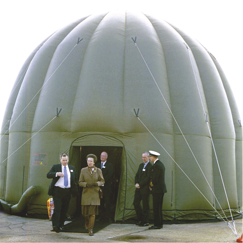 Cameron Fabric Engineering Ex ministry of Defence Inflatable shelter Radome  CB1445-9001