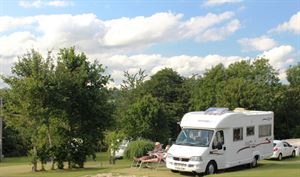 Motorhomes, caravans and tents are welcome