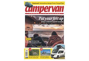 You can download the October issue of Campervan now! (photo courtesy of Campervan magazine)