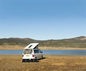 Mike Waterman took his campervan to North America and Canada