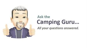 Camping guru, Gary Cross, answers all your questions