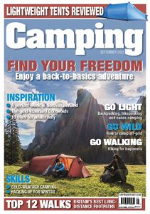 You can download the September issue of Camping from today!