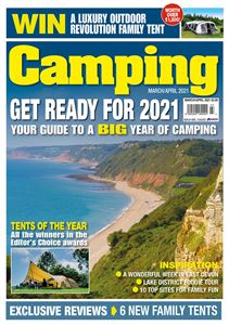 Download Camping magazine's March/April 2021 issue today
