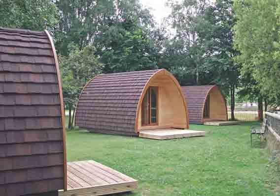 Puddledock Farm camping pods