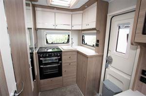The rear kitchen