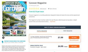 Caravan magazine is available as a print or a digital magazine
