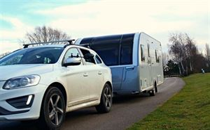 Caravan tracking systems (photo courtesy of Rewire Security)