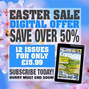 Get a cracking deal on Caravan Magazine for Easter!