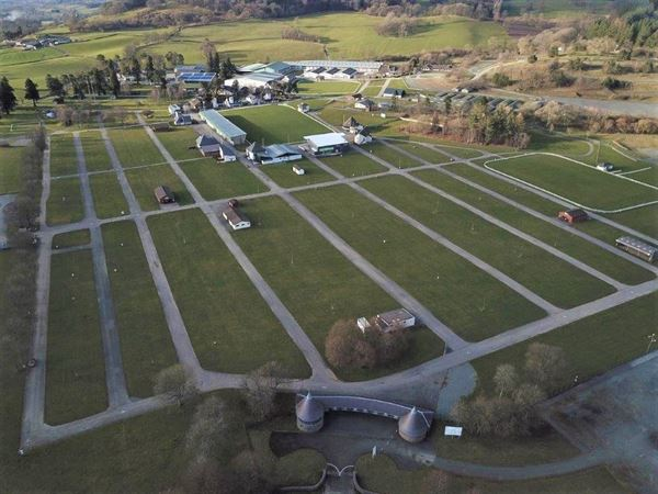 Royal Welsh Agricultural Society showground at Llanelwedd