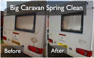 Caravan Spring Clean