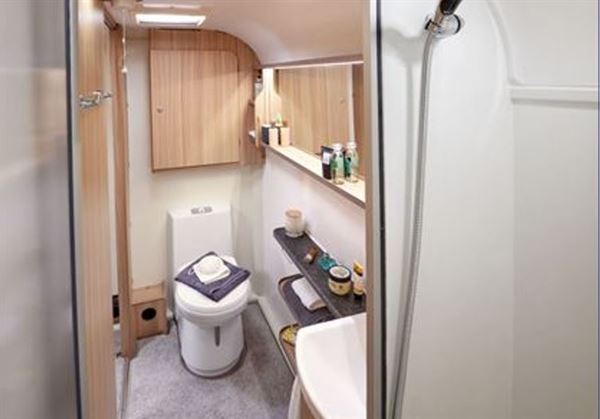Caravan toilets can be nice places
