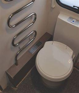 Fixing your caravan toilet flush.
