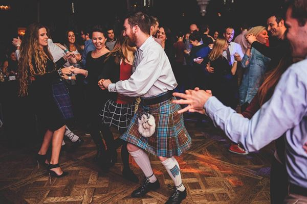 Ceilidh celebrations