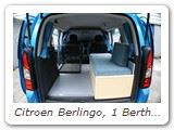 Citroen Berlingo 1 berth