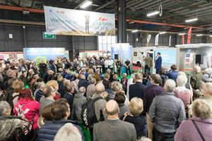 Visitors flock to the Caravan and Motorhome Show