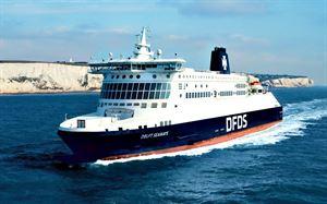 DFDS Dunkirk ship