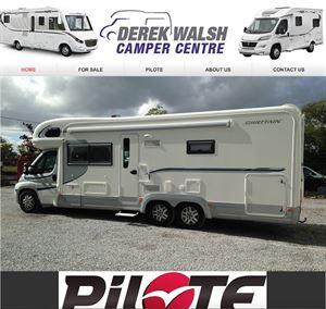 Derek Walsh is now stocking new Pilote motorhomes