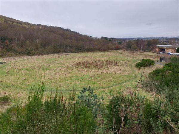 The 16-acre brown field site