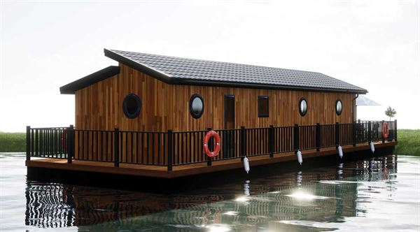 The Floating Lodge Company's new holiday home