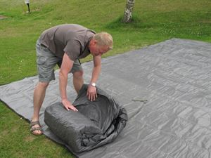 It's important to look after the groundsheet of your tent