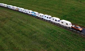 Towing 15 caravans?