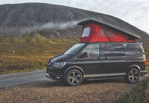 A pop-top rental campervan (Credit: Goboony)