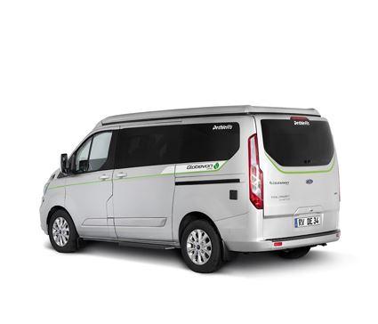 Dethleffs exhibits production-ready hybrid campervan