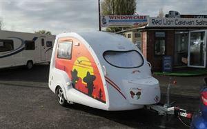 Suzanne and Ian's customised Go-Pod caravan